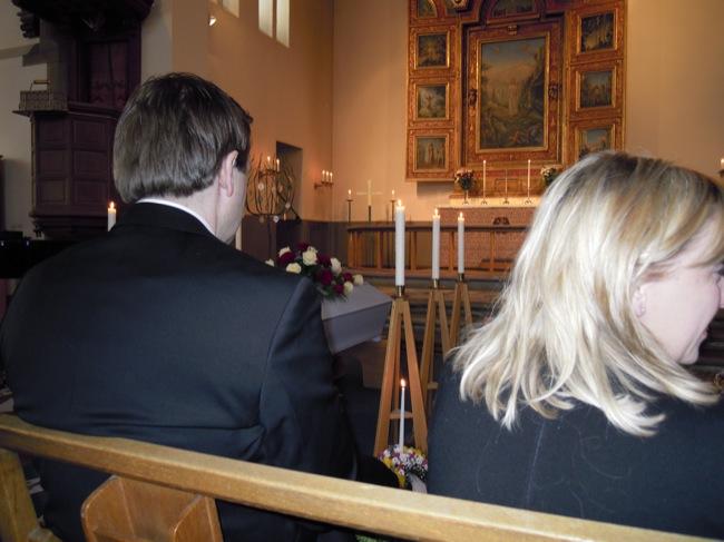 Begravningen