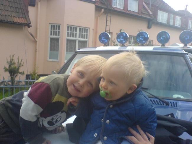 Samuel och Max, maj 2006.