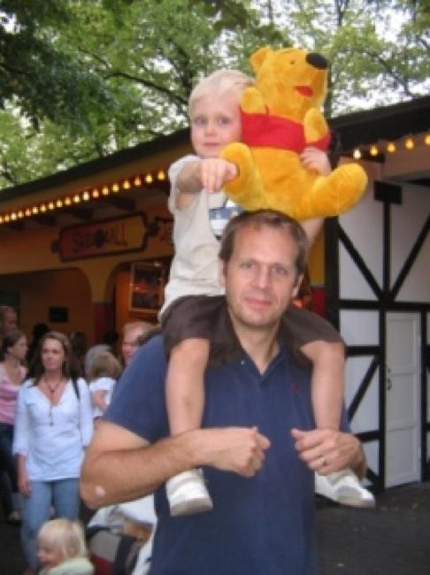 Gröna Lund, augusti 2006.