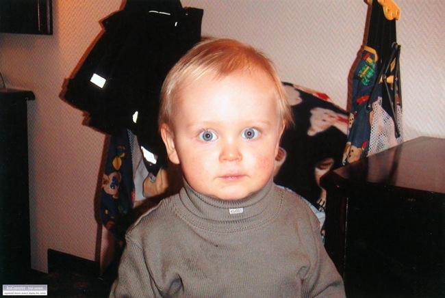 Samuel 1,5 år.
