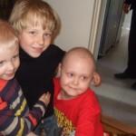 Max, Pascal och Samuel, maj 2009.
