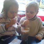 Esmeralda och Samuel, januari 2006.